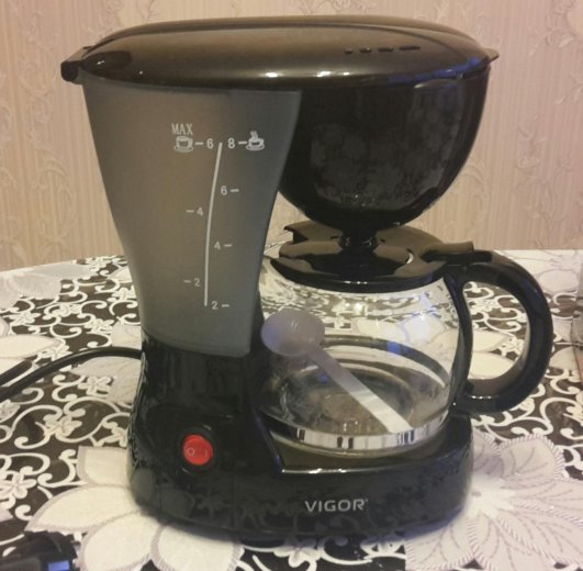 Новая кофеварка. Фото 1. Железнодорожный.