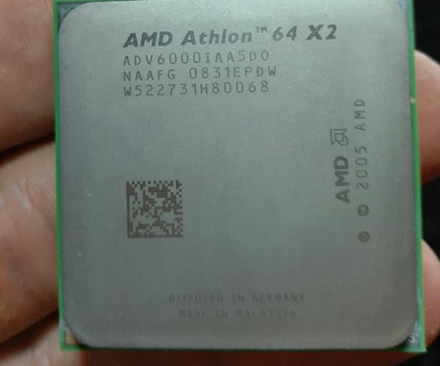 Athlon 64 x2 6000+ 3ghz am2. Фото 1. Пенза.