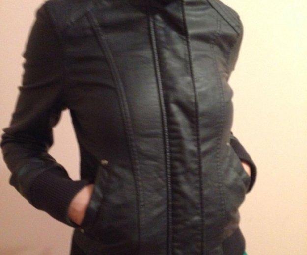 Кожаная куртка. Фото 2. Краснодар.