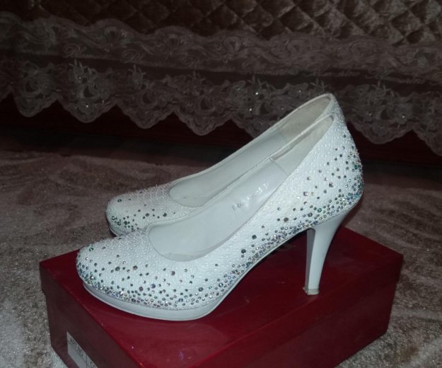 Свадебные туфли. Фото 1. Калининград.