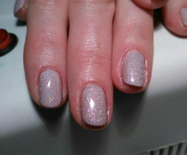 Наращивание ногтей гелем, покрытие гель лак. Фото 2. Екатеринбург.