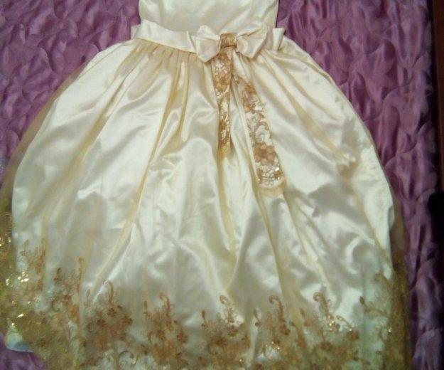 Платье для торжества на 8-11 лет. Фото 2. Тюмень.