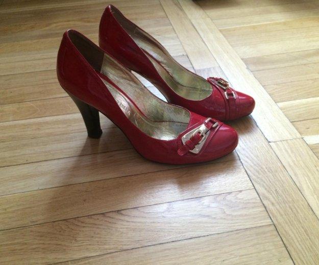 Туфли 40 красные. Фото 1. Санкт-Петербург.