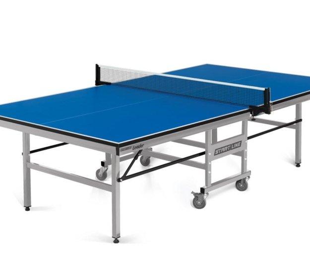 Теннисный стол leader - клубный, подходит для трен. Фото 1. Волгоград.