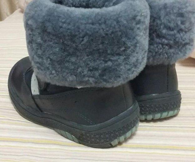 Ботинки из натуральной кожи. Фото 4. Ижевск.