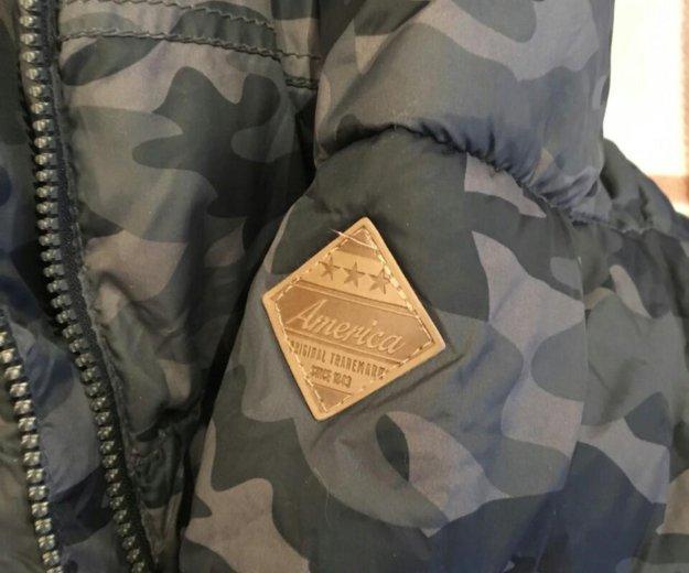 Куртка пуховик kiabi для мальчика 10-12 лет. Фото 2. Москва.