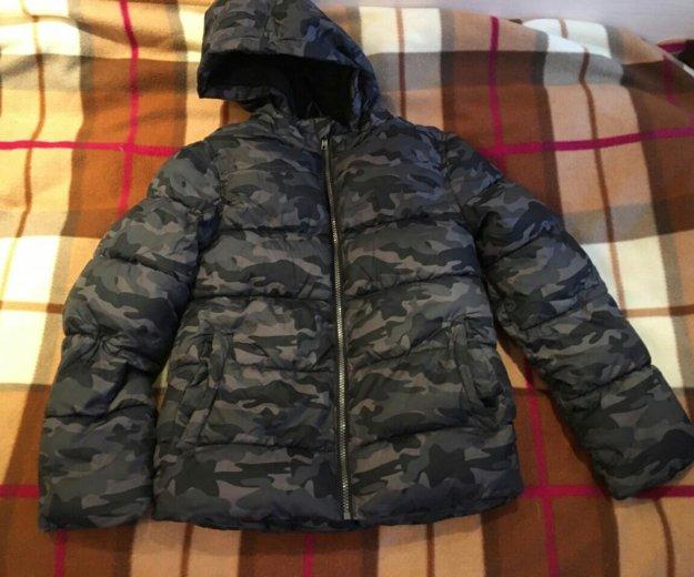 Куртка пуховик kiabi для мальчика 10-12 лет. Фото 1. Москва.