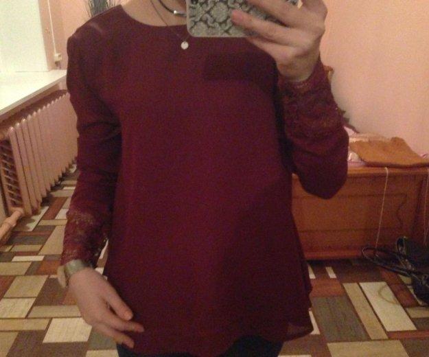 Блузка с кружевом. Фото 4. Иваново.