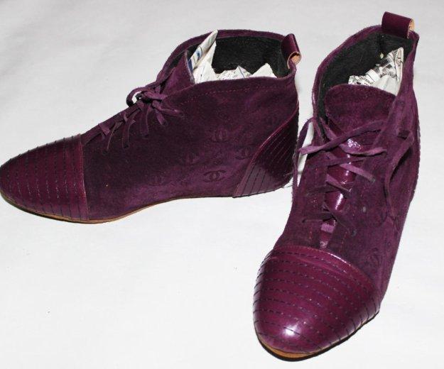 Осенние ботиночки. Фото 1. Сургут.