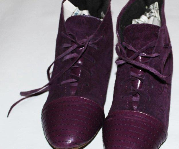 Осенние ботиночки. Фото 2. Сургут.