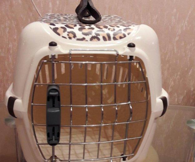 Переноска для кошек. Фото 1. Балашиха.