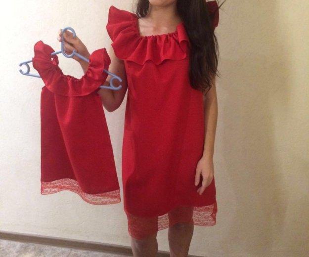 Платья новые для мамы и дочки. Фото 2. Одинцово.