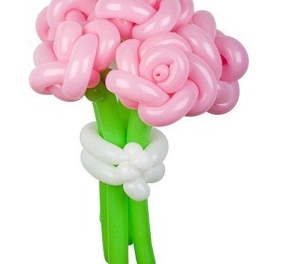 Розы из шаров. Фото 1. Рязань.