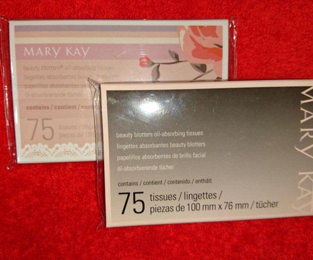 Новые!!салфетки с матирующим эффектом mary kay. Фото 1. Подольск.
