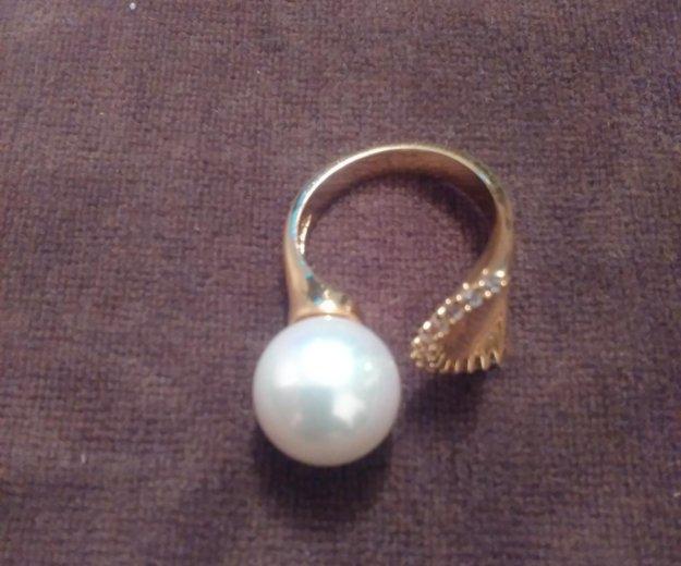 Кольцо с жемчугом. Фото 2. Зеленоград.