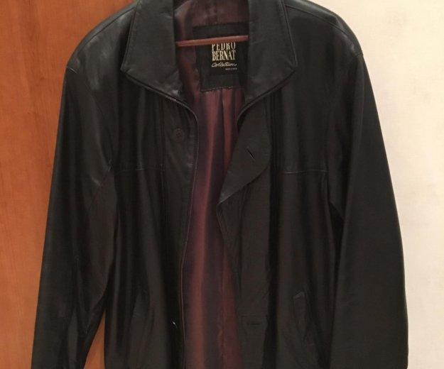 Куртка кожаная. Фото 1. Раменское.