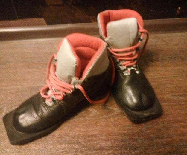 Ботинки лыжные. Фото 1. Пермь.