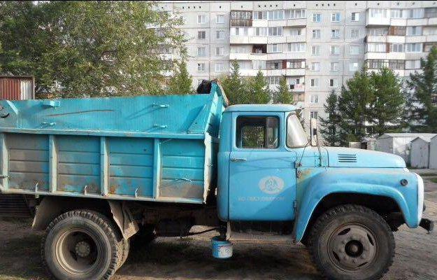 Зил 130. Фото 1. Омск.