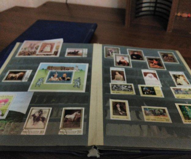 Марки около 850 шт. вьетнам, болгария, ссср. Фото 1. Великий Новгород.