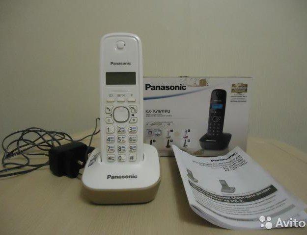 Panasonic kx-tg1611ru в отличном состоянии. Фото 1. Казань.