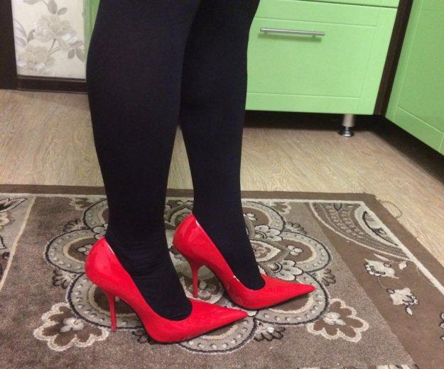Туфли лодочки красные. Фото 3. Тюмень.