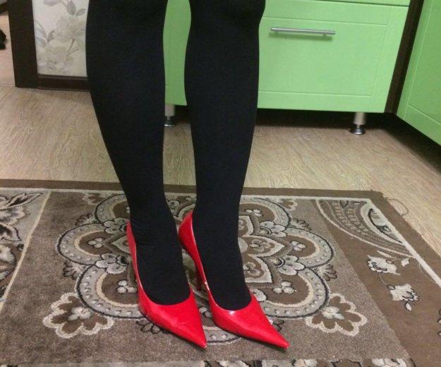 Туфли лодочки красные. Фото 1. Тюмень.