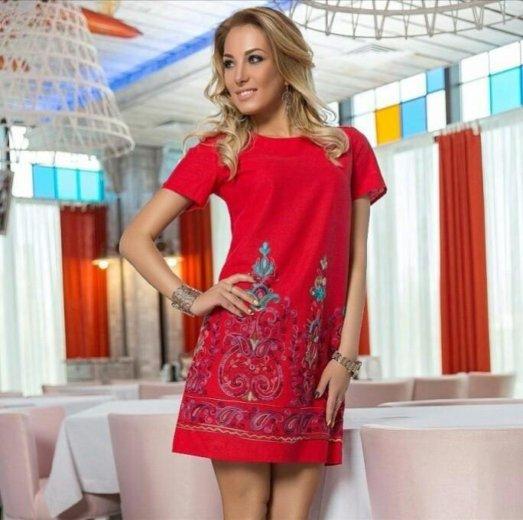 Платье с вышивкой. Фото 1. Тюмень.