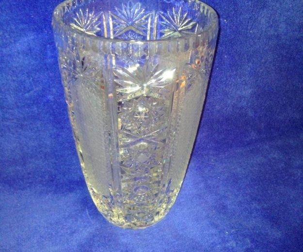 Хрустальная ваза. Фото 1. Санкт-Петербург.