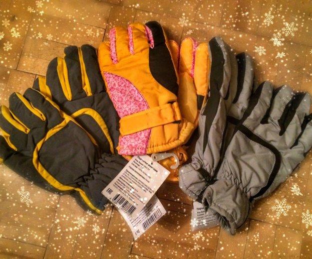 Перчатки тёплые зимние, мужские / женские новые⛷❄️. Фото 1. Москва.