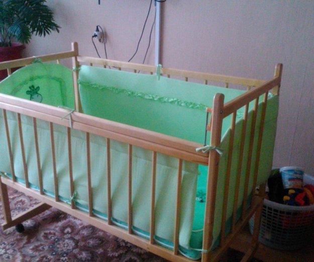 Кроватка детская. Фото 2. Екатеринбург.