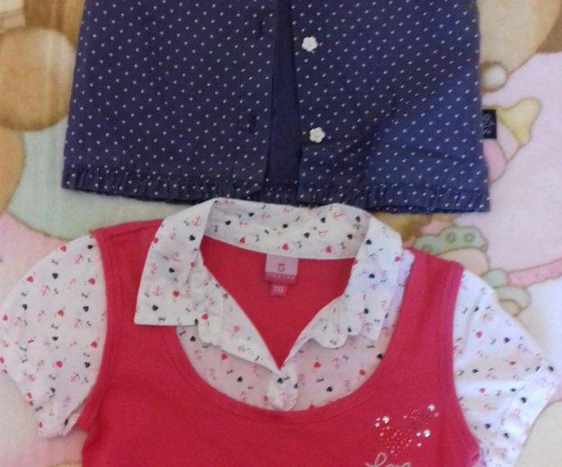 Блузки и брюки. на возраст 4-5 лет. Фото 1. Екатеринбург.