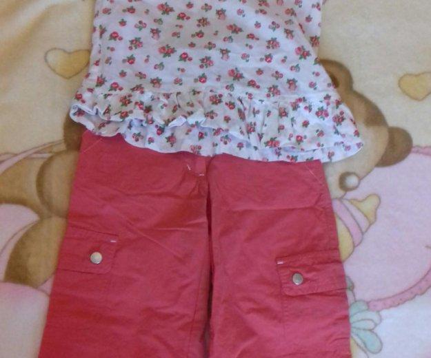 Блузки и брюки. на возраст 4-5 лет. Фото 2. Екатеринбург.