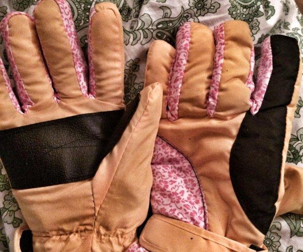 Перчатки тёплые зимние,  женские новые ⛷❄️. Фото 1. Москва.