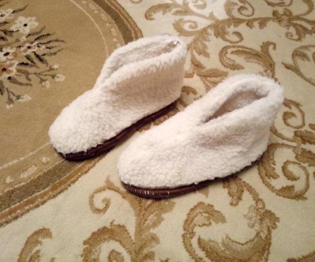 Домашняя обувь из овчины. Фото 1. Краснодар.