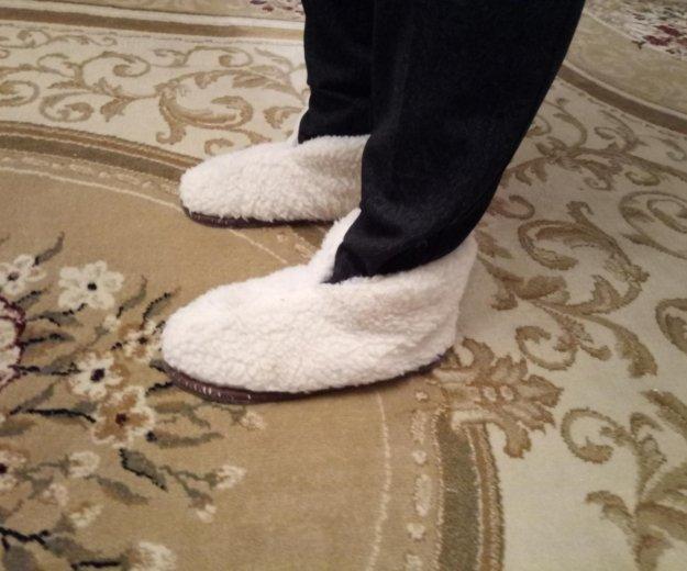 Домашняя обувь из овчины. Фото 2. Краснодар.