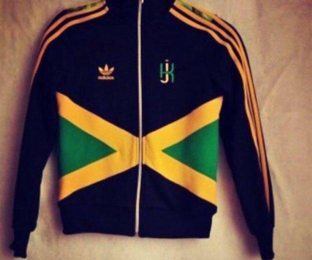 Олимпийка adidas kingston jamaica. Фото 1. Москва.