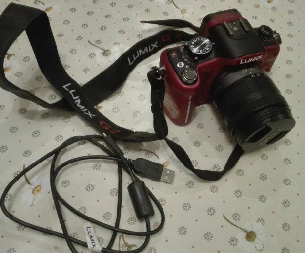 Фотоаппарат panasonic lumix dmc-g2. Фото 3. Самара.