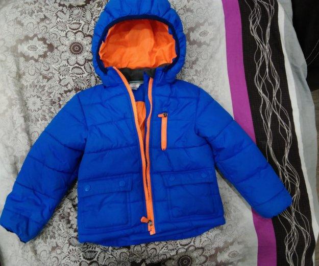 Куртка зимняя h&m б/у. Фото 1. Мурманск.
