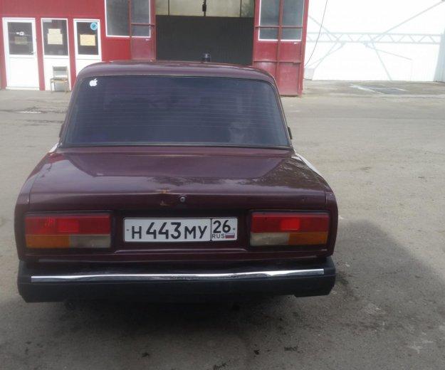 Автомобиль ваз 2107,2005года. Фото 3. Анджиевский.