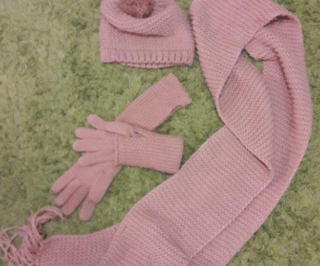 Шапка, шарф и перчатки. Фото 1. Санкт-Петербург.