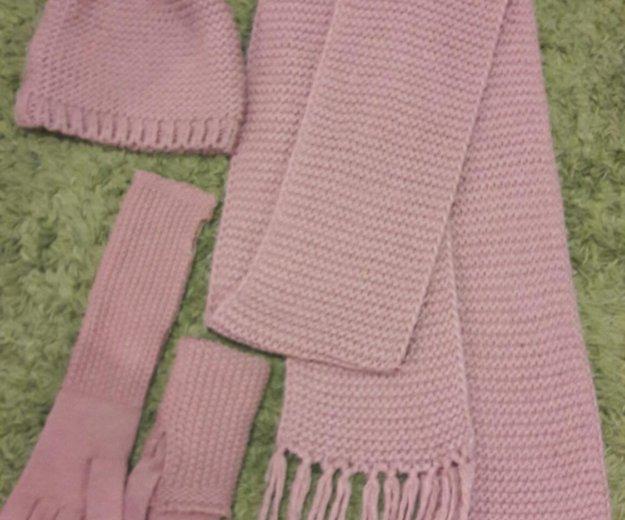 Шапка, шарф и перчатки. Фото 2. Санкт-Петербург.