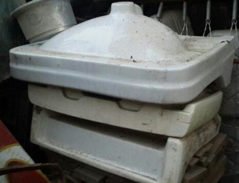 Керамическая раковина. Фото 1. Анапа.