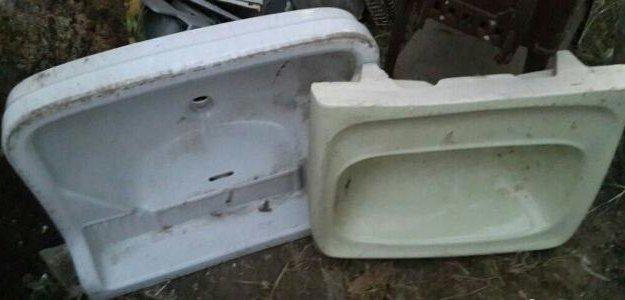 Керамическая раковина. Фото 2. Анапа.