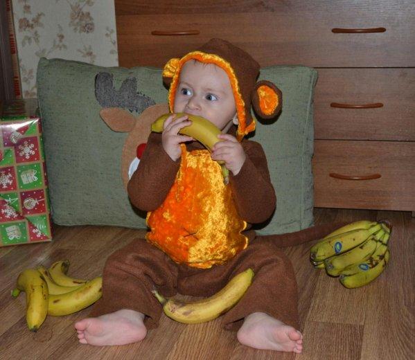 Новогодний костюм обезьянки. Фото 1. Краснодар.