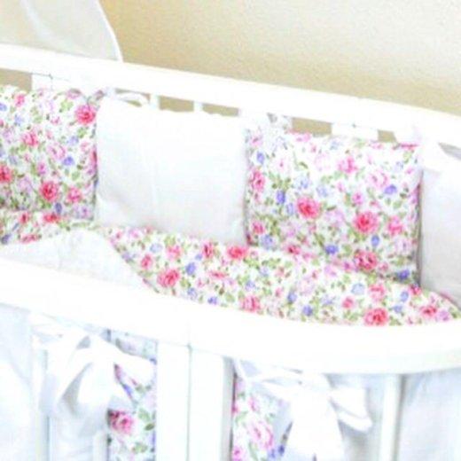 Бортики-подушки в кроватку. Фото 1. Санкт-Петербург.