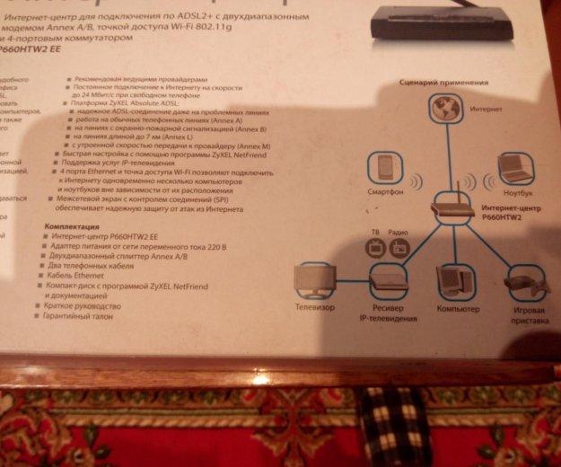 Интернет центр adsl2+. Фото 2. Уфа.