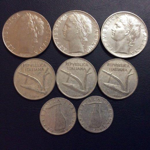 Итальянские монеты. Фото 2. Москва.