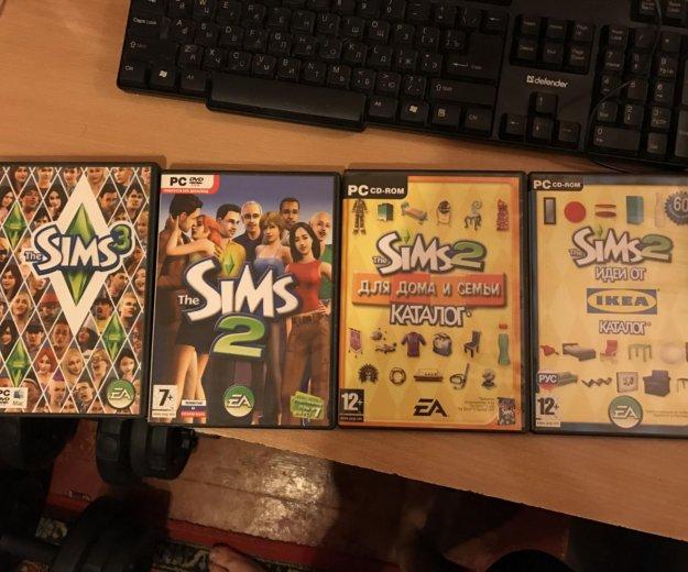 Sims 2 + 2 каталога (sims 3 в подарок). Фото 1. Москва.