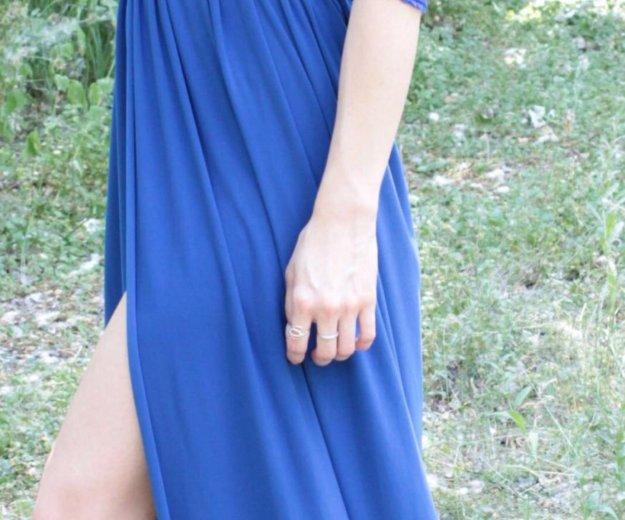 Платье в пол синее. Фото 2. Санкт-Петербург.