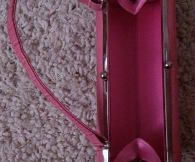 Розовый клатч. Фото 2. Москва.